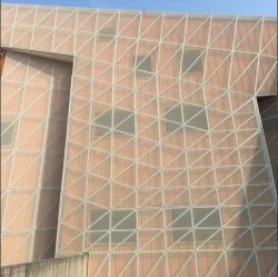 Maille décorative extérieure de revêtement en métal avec le modèle de Foshion