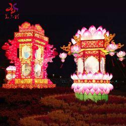 Tradicional de alta calidad de color rojo de seda china Linternas LINTERNAS baratos