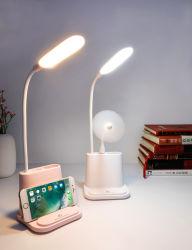 Lampada di scrittorio della Tabella di lettura di studio del LED con il caricatore del USB