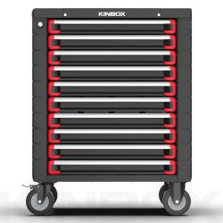 10 ящик металлический стальной шкаф инструмента Kinbox инструмент тележки