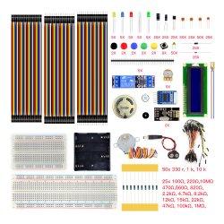 Uno R3 Starter Kit с резистором конденсатор транзистор светодиод перемычка