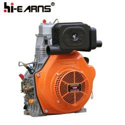 高品質 15HP シングルシリンダ空冷 4 ストロークディーゼルエンジン (HR198FA)