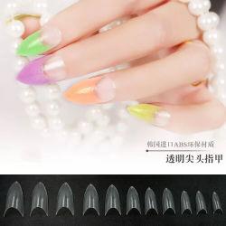 Beleza Dicas de unhas Stiletto plástico projetado Art Nail