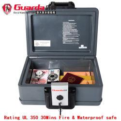 Caja fuerte secreta resistentes al fuego la Caja de seguridad Caja de seguridad de almacenamiento de documentos