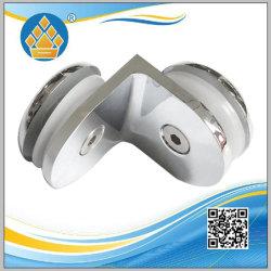 En acier inoxydable de haute qualité porte en verre coulissante collier de serrage du support de tuyau