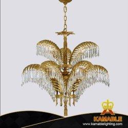 Американский стиль старинной латуни хрустальной люстрой и освещение (FD-0656-6+3)
