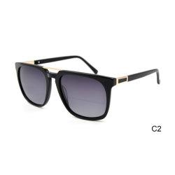 Private label ацетат большие Мужчины Женщины роскошь солнечные очки