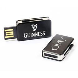 Schlüsselketten-Metallmasse USB-Feuerzeug, runder Metall-USB-Schlüssel, 64 GBs volle Kapazität USB-100% - freie Probe