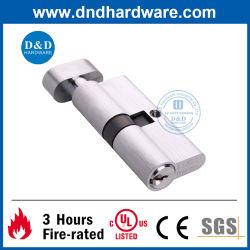 Messingeuroprofil-hölzerner Tür-Verschluss-Zylinder