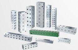 La Chine usine directement d'usinage CNC d'alimentation de l'aluminium et acier collecteurs à circuit parallèle