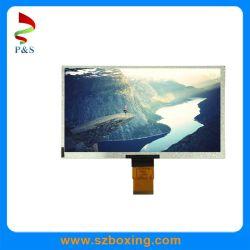9 1280*720 해결책 자동차 DVD 산업 모니터 POS 단말기 HMI 전시를 위한 넓은 온도 Lvds 공용영역을%s 가진 인치 TFT LCD 디스플레이
