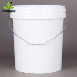 Plastikwanne des China-Hersteller-20 des Liter-5gallon mit Tülle-Kappe