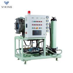 3KW 100L/Min coalescência e purificador de óleo de separação de óleo da turbina
