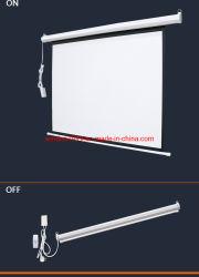 Настройка электрического проекционного экрана с помощью пульта дистанционного управления