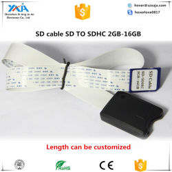 De Lezer van de Kaart van de Kabel van de Uitbreiding van de Kaart van Xaja BR SDHC voor GPS en Auto DVR van de Auto