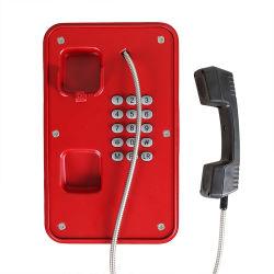 Pesado Industrial dever estrada exterior com classificação IP66 IP67 Emergência Telefone VoIP