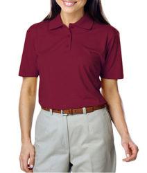 Рубашки поло 100% хлопок с логотип для женщин
