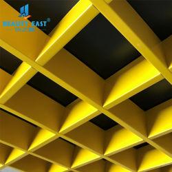 Plafond de la grille d'aluminium coloré Fashion Décoration de toit