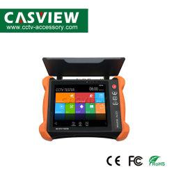 8 Kabel-Prüfvorrichtung des Zoll H. 265 4K HD IPcctv-Prüfvorrichtung-Monitor-CVBS Ahd Cvi Tvi der Kamera-8MP WiFi Onvif HDMI des Input-UTP