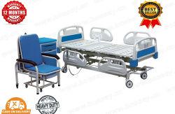 La función de cinco muebles cama UCI Hospital eléctrica cama de hospital (BS-858)