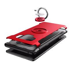 Установите противоскользящие кольцо моды плечевой лямки ремня безопасности телефон с магнитным для Samsung Galaxy примечание 9 дела