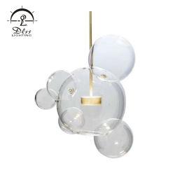 Sala de vidro criativo Lâmpada Pendente de iluminação