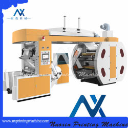 4 Machine van de Druk van de Zak van het Document van de kleur Flexographic Kraftpapier, Thermisch, GolfDocument