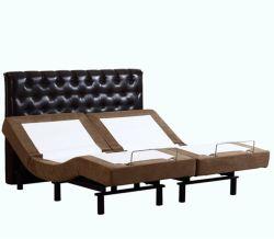 Moderne Enige Koningin King Size Adjustable Bed van het Gebruik van de Slaapkamer van de Stijl