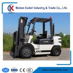 3 tonnellate di carrello elevatore a forcale diesel a quattro ruote con il motore incluso giapponese ed il prezzo poco costoso (CPCD30)