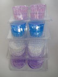 2 Camadas de gel de silicone de Ar Condicionado Almofada do calcanhar