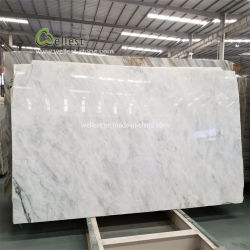 Piedra de mármol blanco para la decoración mural interior Onyx Hotel de lujo Project