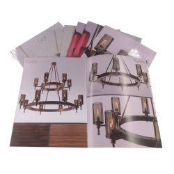 La laminación de papel de la Revista de Arte Publicidad Folleto Impresión Impresión de libros en buena calidad