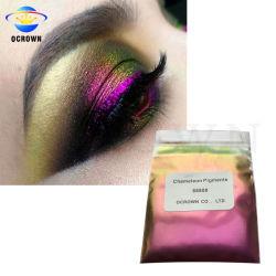 Chameleon Duochrome пигмента цветовой сдвиг порошок для глаз косметические пигменты