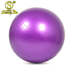 Form-Sport-Gymnastik-Drucken bewegliche Schaumgummi-Yoga-Kugel Belüftung-3*6*9