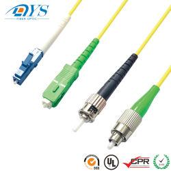 Быстрый разъем Sc APC Sc БЗК Corning кабель волоконно-оптический кабель питания исправлений цена