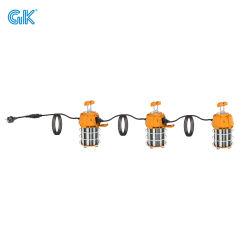 GK 100W 10000RU멘 건설 조명 UL 인증 LED 임시 작업등 60W 150W 후크 포함