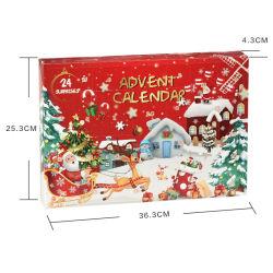 새로운 크리스마스 장식 창조적 카운트다운 크리스마스 블라인드 박스 장난감 펜던트 크리스마스 선물