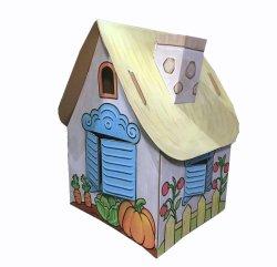 Kartonnen huizen met aangepaste drukkerij en structuur
