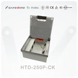 Cavidade 22mm caixas de piso ajustável Inoxidável/Tomada Eléctrica/ Tomada eléctrica