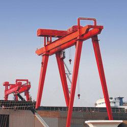 Chantier naval de grue à portique double poutre pour