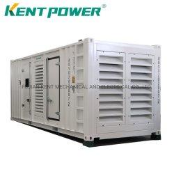 600kVA 1000kVA 1600kVA 2000kVA Mitsubishi Grupo electrógeno/ Generador Diesel insonorizado Cummins alternador Stamford con alta calidad de grupo electrógeno de contenedores