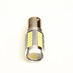 La alta calidad 1156 Ba15s 1167 BA15D P21W Bombilla LED SMD 335730/5630 con Len Luz de freno trasera del coche de la luz de retroceso automático