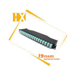 La parte superior desmontable modular de la red de fibra óptica Patch Panel