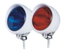 Luz de alarma de motocicleta de la policía (LET0541)
