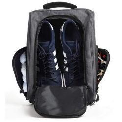 رجالي [جم] رياضات [لتنس] أحذية يعبّئ حقيبة سفر خارجيّة [بسّحّاب حقائب أحذية الحامل مع جيوب تهوية لملحقات الجولف