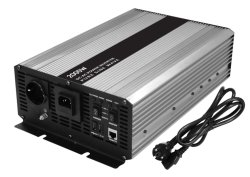 2000 W 12 V/24 V con caricabatteria prioritario inverter pure a onda sinusoidale