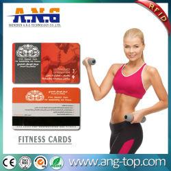 Impression personnelle Manbership RFID pour le centre de conditionnement physique de carte de gestion de l'VIP