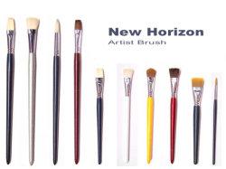 Escova de pintura do artista/Pincel Pintura Escova de cerdas da escova de nylon da escova