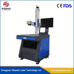 이동할 수 있는 힘 섬유 Laser 표하기 기계 환경 광학적인 Laser 조각 장비