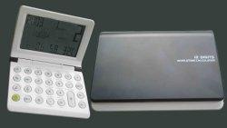 Calendario de 12 dígitos Cubierta plegable Calculadora Calendario (PI-013)